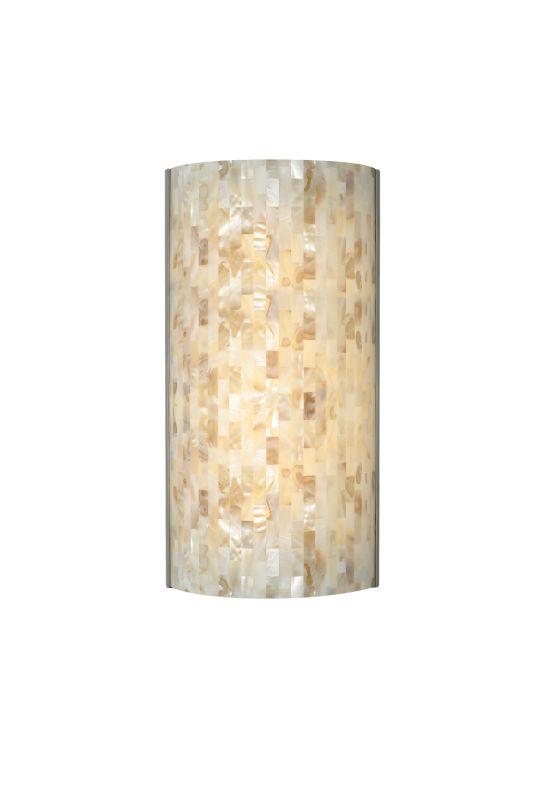 Tech Lighting 700WSPLAFN-LED277 Playa 277v 1 Light LED Natural Shell