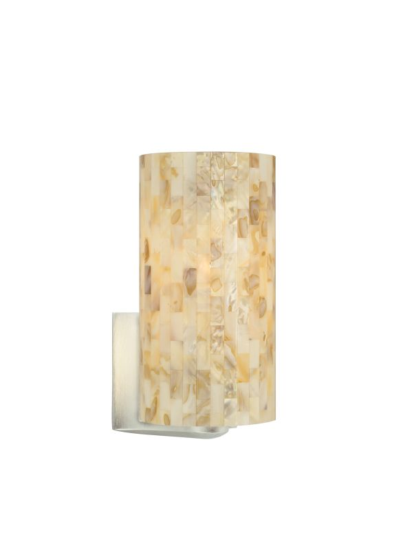 Tech Lighting 700WSPLAN-CF Playa Multi-Toned Natural Shell Panel