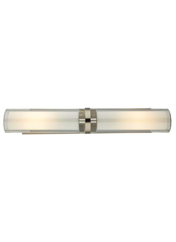 Tech Lighting 700WSSARDC-CF Sara 2 Light Fluorescent Solid Crystal