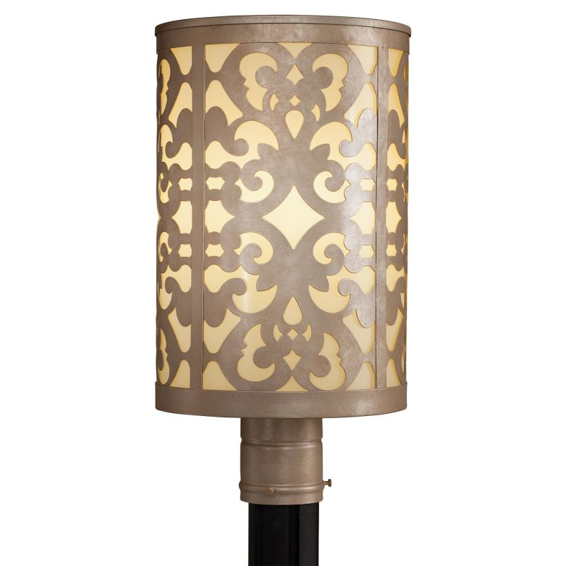 The Great Outdoors 1496 1 Light Post Light from the Nanti Collection