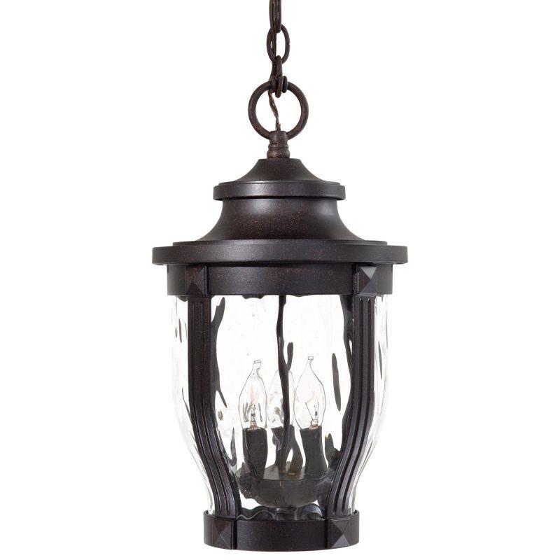 The Great Outdoors 8764-166 3 Light Lantern Pendant from the Merrimack