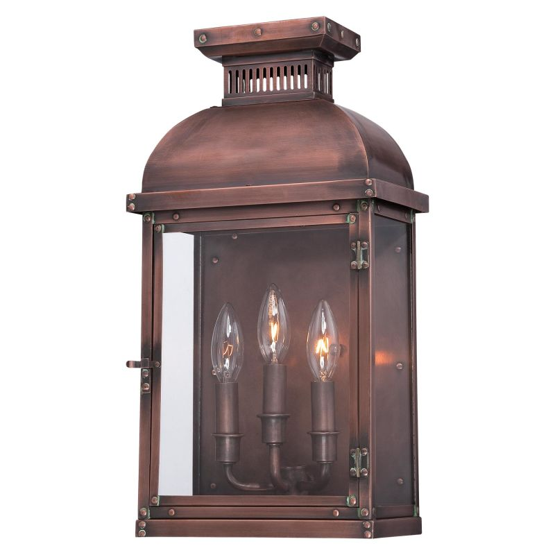 The Great Outdoors 9073-264 3 Light Outdoor Wall Sconce from the