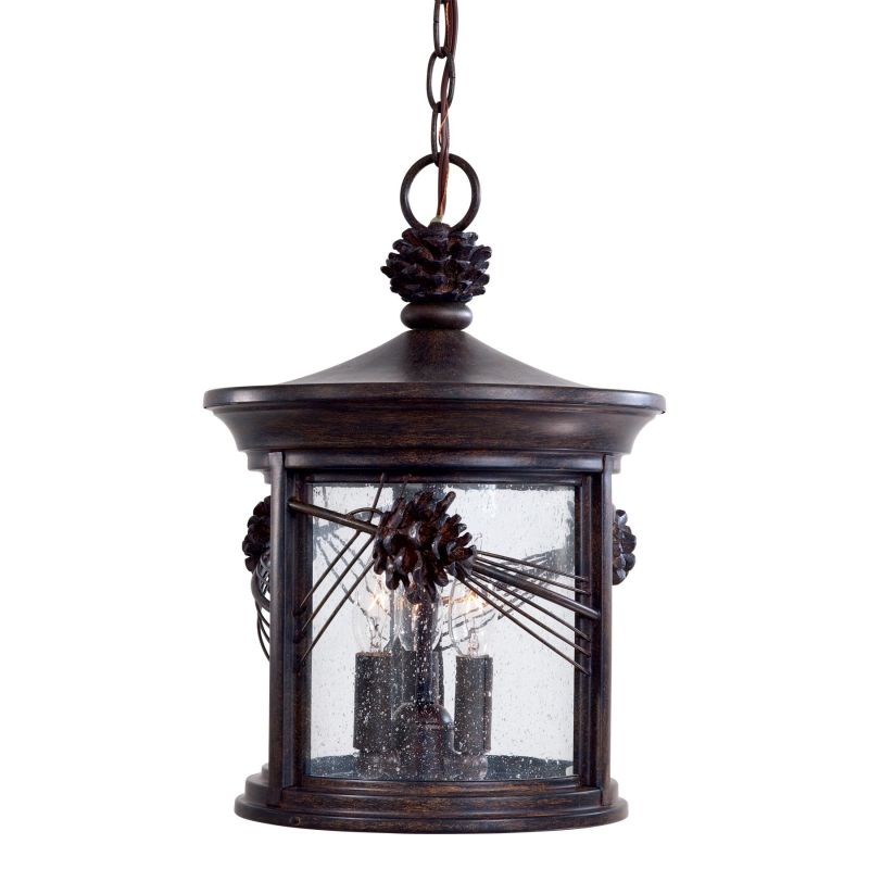 The Great Outdoors GO 9154 3 Light Lantern Pendant from the Abbey Lane Sale $279.90 ITEM: bci309160 ID#:9154-A357 UPC: 747396080567 :