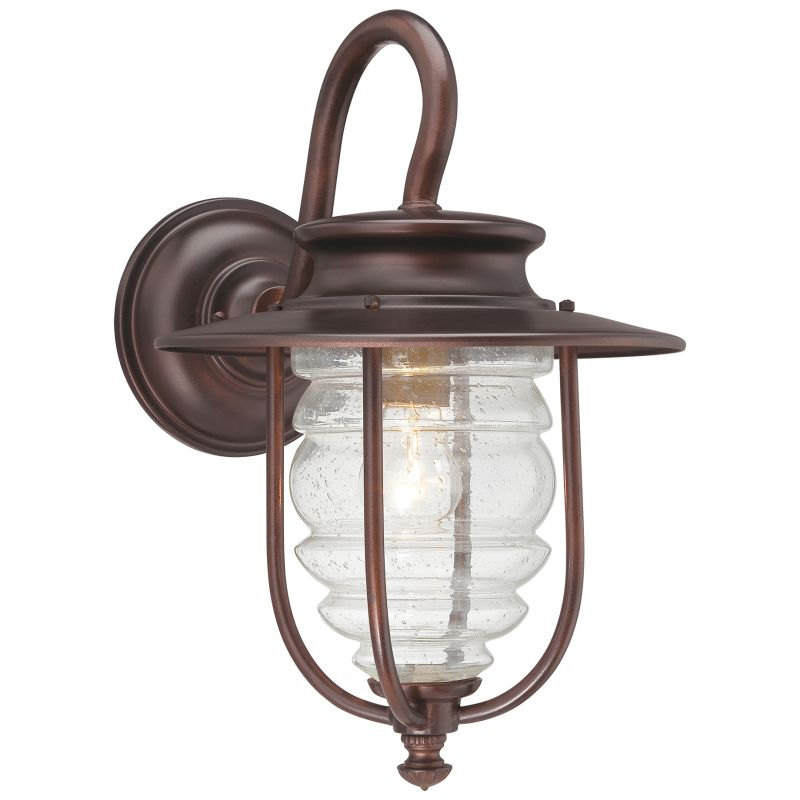 "The Great Outdoors GO 72261 1 Light 14"" Height Outdoor Wall Sconce"