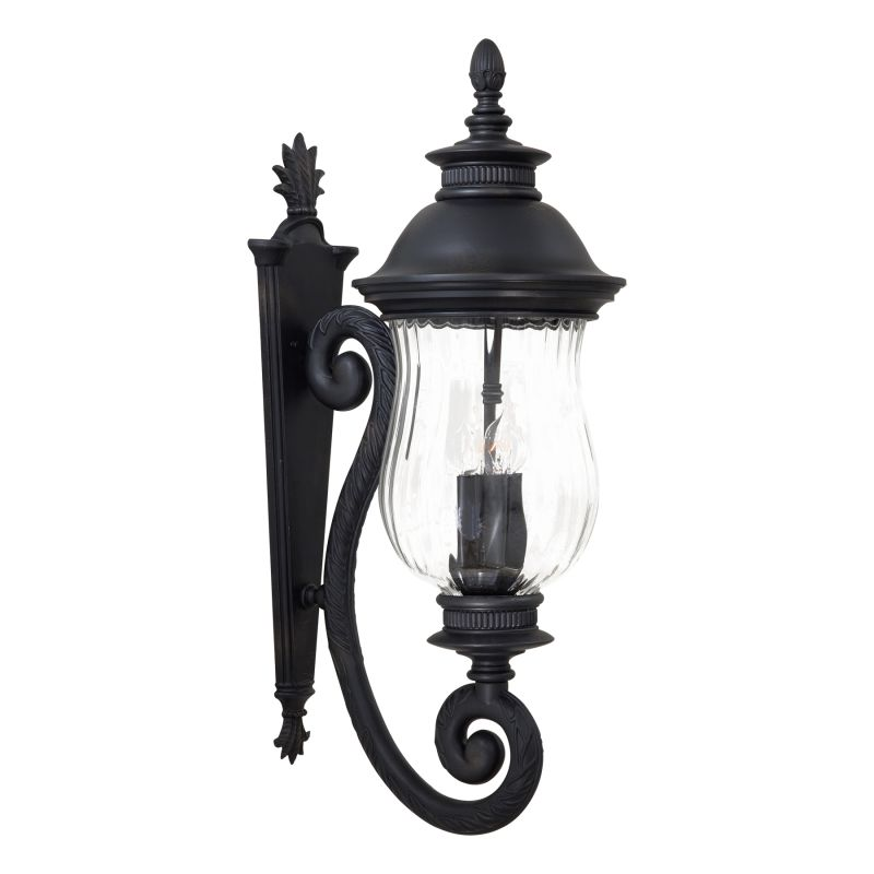 The Great Outdoors GO 8903 4 Light Outdoor Wall Sconce from the
