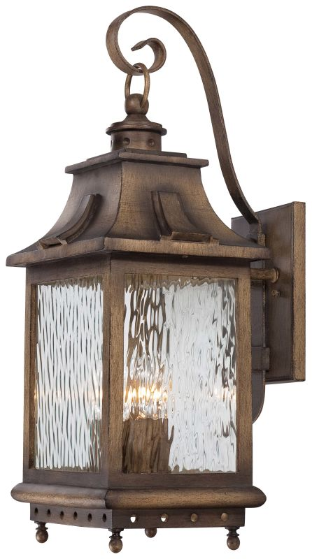 The Great Outdoors 72113-149 4 Light Outdoor Wall Sconce from the