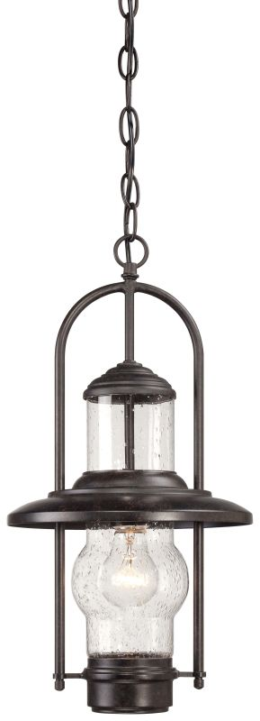 The Great Outdoors 72164-179 1 Light Lantern Pendant from the Settlers
