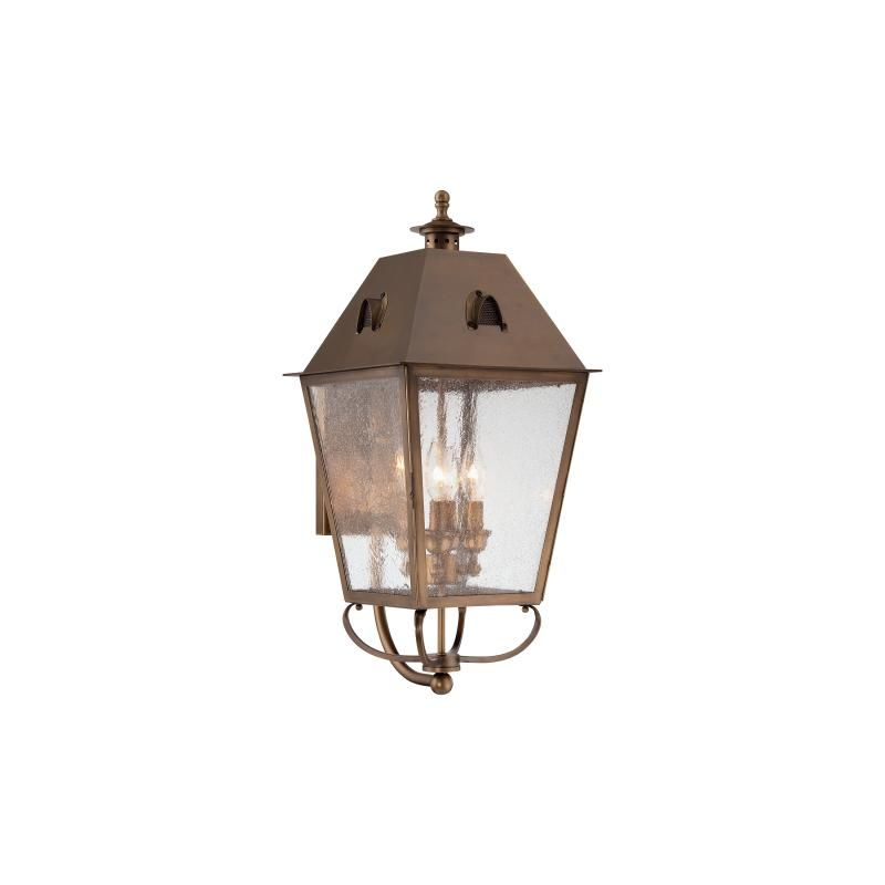 The Great Outdoors 72427-212 4 Light Outdoor Wall Sconce from the