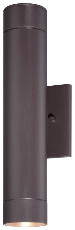 """The Great Outdoors 72502-615B-L 2 Light 14.5"""" LED Outdoor Wall Sconce"""