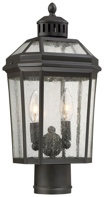 The Great Outdoors 72536-143 2 Light Outdoor Post Light from the Hawks