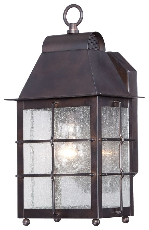 The Great Outdoors 73091-189 1 Light Outdoor Wall Sconce from the