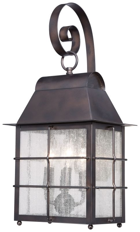 The Great Outdoors 73093-189 4 Light Outdoor Wall Sconce from the