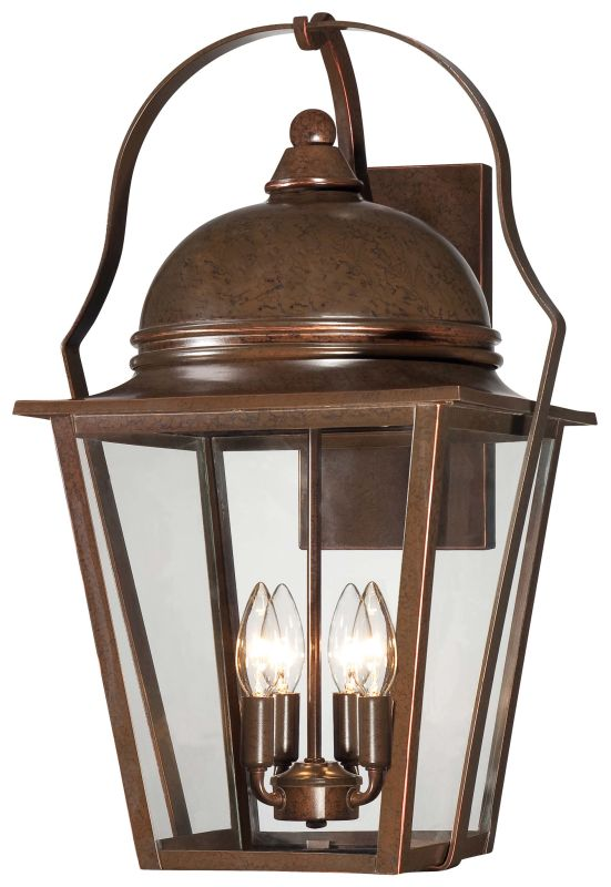 The Great Outdoors 72303-291 4 Light Outdoor Wall Sconce from the