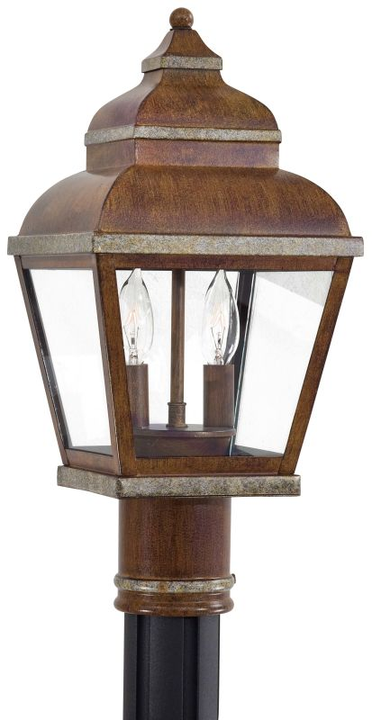 The Great Outdoors GO 8266 2 Light Post Light from the Mossoro