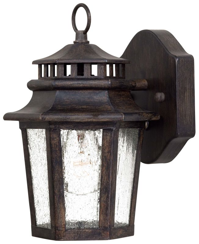 The Great Outdoors GO 8271 1 Light Outdoor Wall Sconce from the