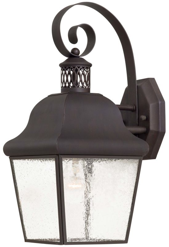 The Great Outdoors GO 8551 1 Light Outdoor Wall Sconce from the Glen