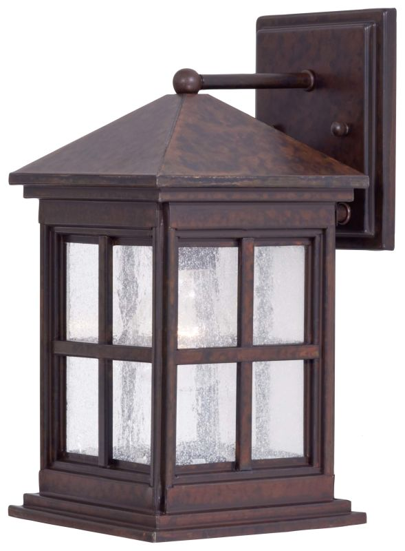"The Great Outdoors GO 8561 1 Light 12.25"" Height Outdoor Wall Sconce"