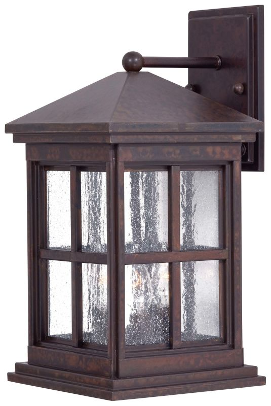 The Great Outdoors GO 8562 3 Light Outdoor Wall Sconce from the