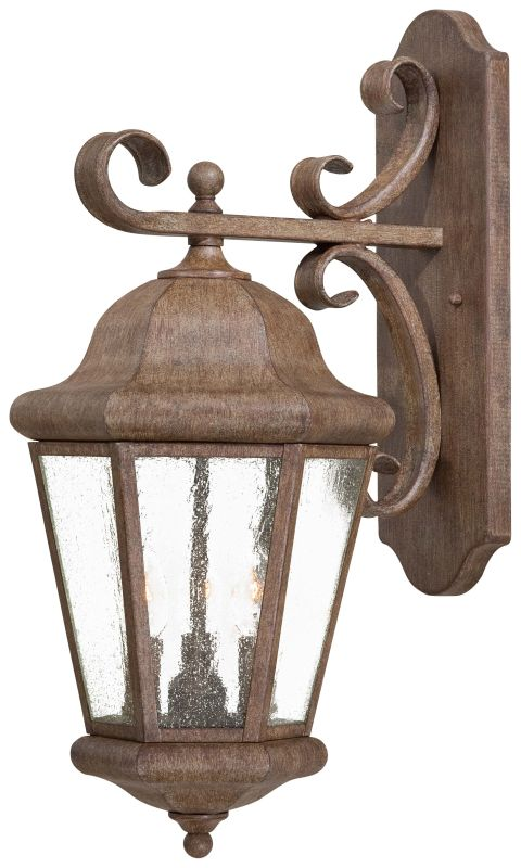 "The Great Outdoors GO 8613 3 Light 22.75"" Height Outdoor Wall Sconce"