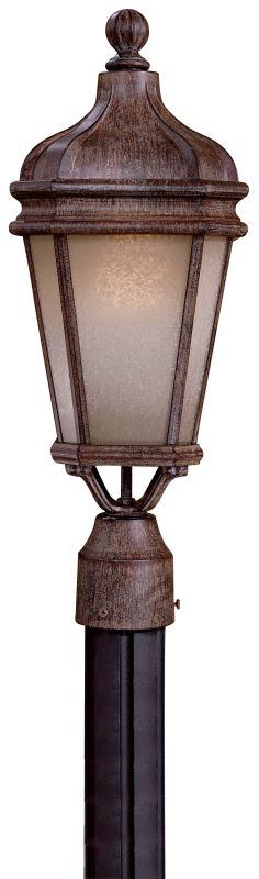 The Great Outdoors GO 8695-1-PL 1 Light Post Light from the Harrison