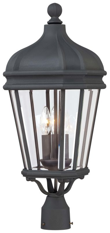 The Great Outdoors GO 8696 3 Light Post Light from the Harrison