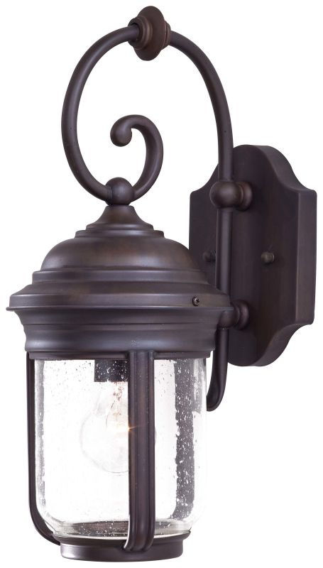 The Great Outdoors GO 8817 1 Light Outdoor Wall Sconce from the