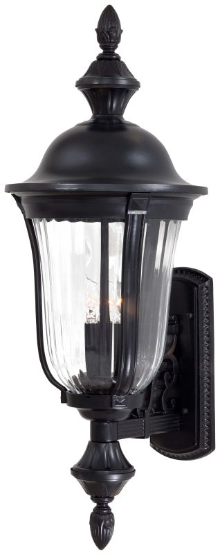 The Great Outdoors GO 8842 3 Light Outdoor Wall Sconce from the Morgan
