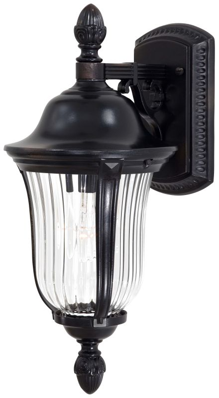 The Great Outdoors GO 8847 1 Light Outdoor Wall Sconce from the Morgan