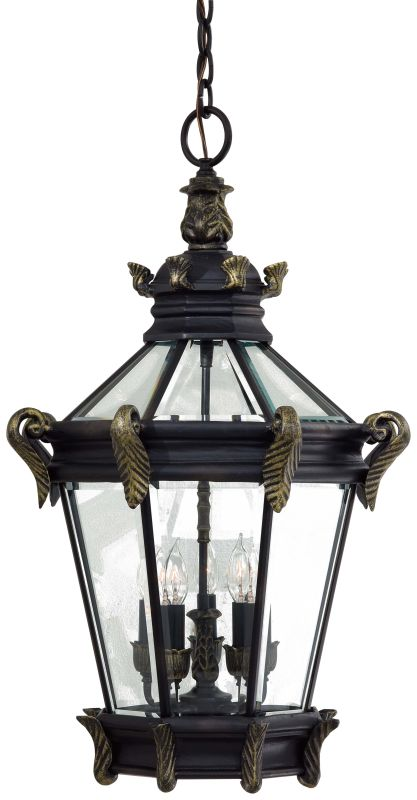 The Great Outdoors GO 8934 5 Light Lantern Pendant from the Stratford