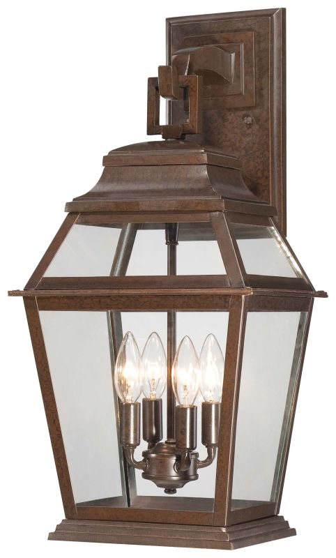 The Great Outdoors 9283-171 4 Light Outdoor Wall Sconce from the