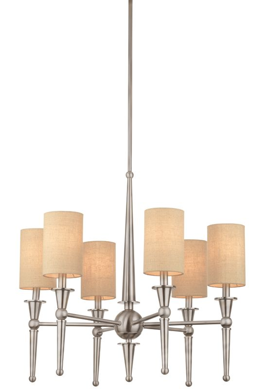 Thomas Lighting M2097 6 Light Single Tier Chandelier with Cylinder