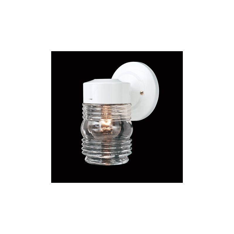 Thomas Lighting SL715 Functional Outdoor Wall Sconce White Outdoor