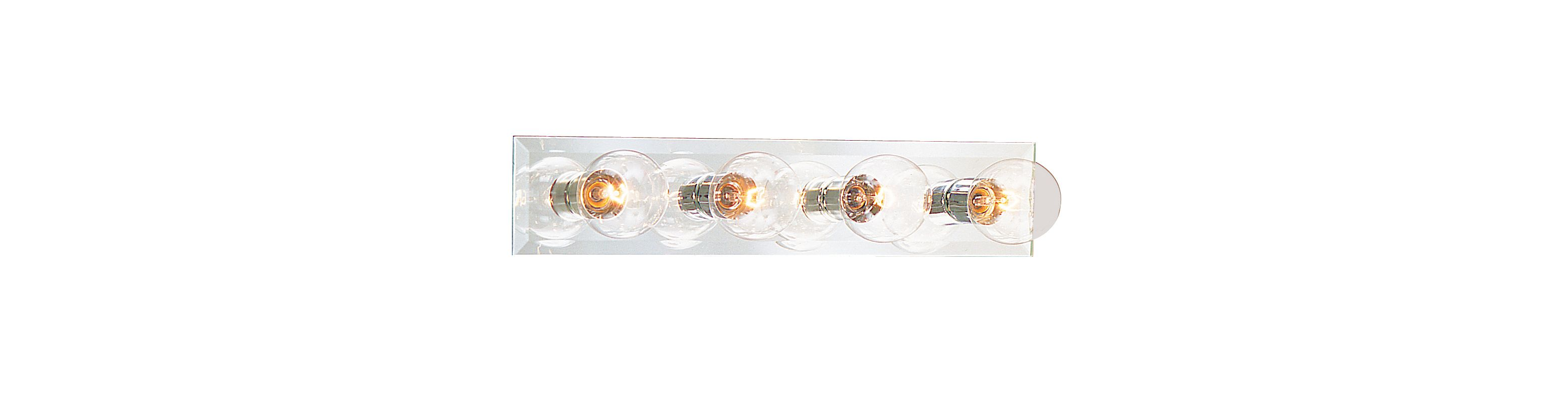 "Thomas Lighting SL7324 Functional 4 Light 24.75"" Wide Bathroom Fixture"