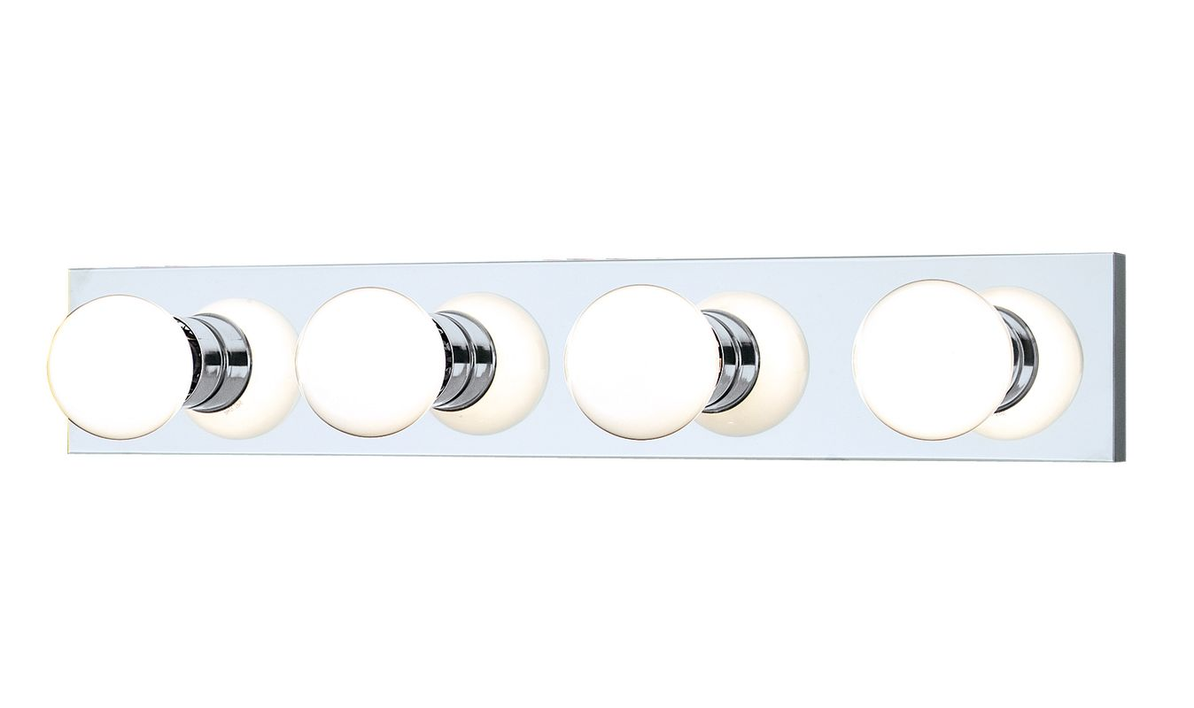 "Thomas Lighting SL7402 Functional 4 Light 24"" Wide Bathroom Fixture"