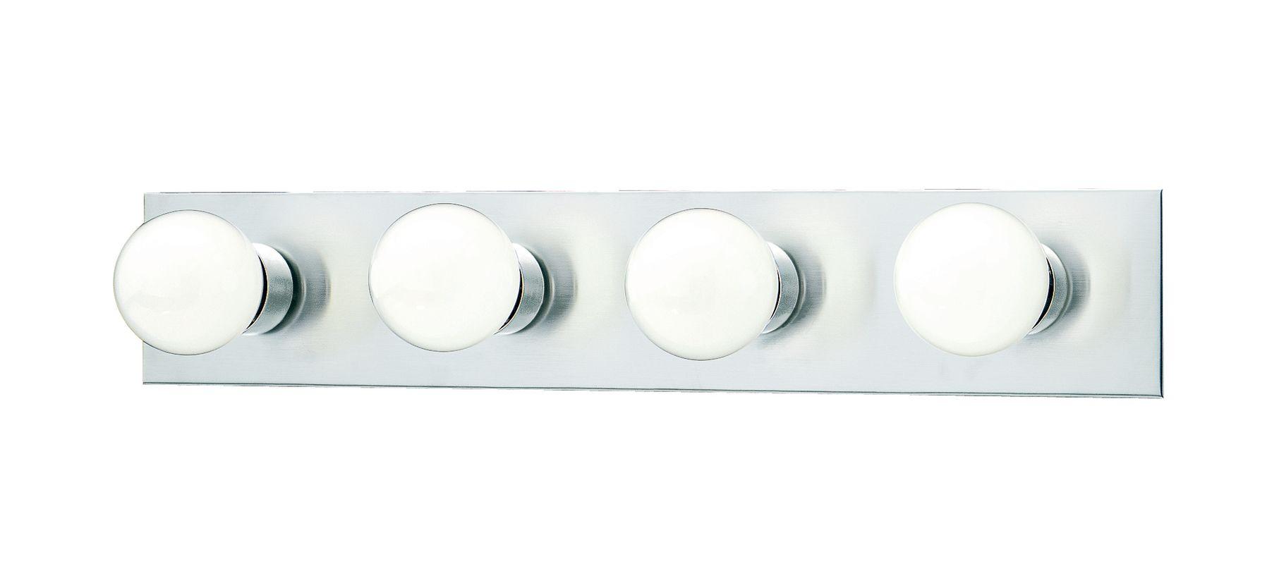 "Thomas Lighting SL7402 Functional 4 Light 24"" Wide Bathroom Fixture"