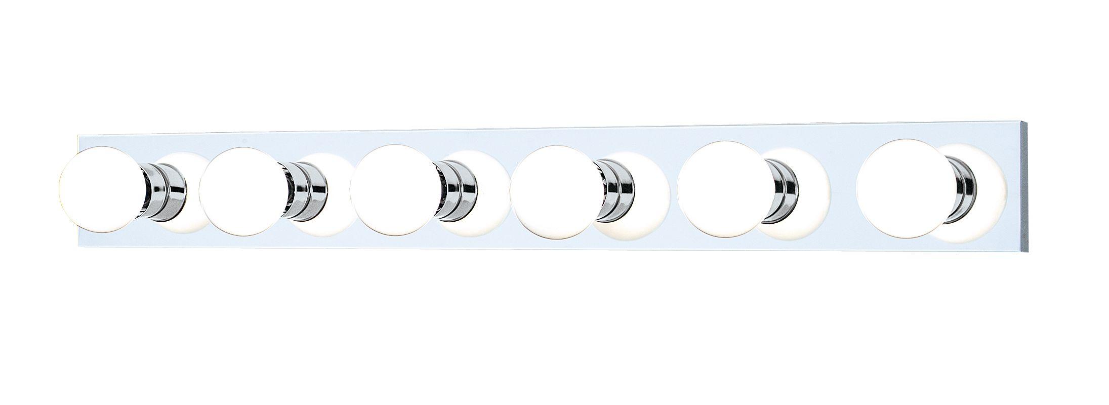 "Thomas Lighting SL7418 Functional 6 Light 36"" Wide Bathroom Fixture"