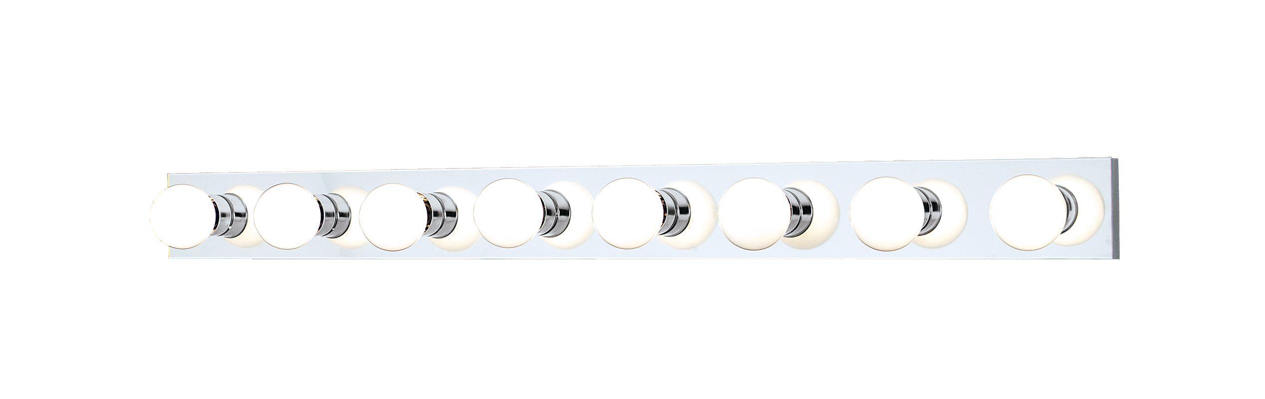 "Thomas Lighting SL7425 Functional 8 Light 48"" Wide Bathroom Fixture"