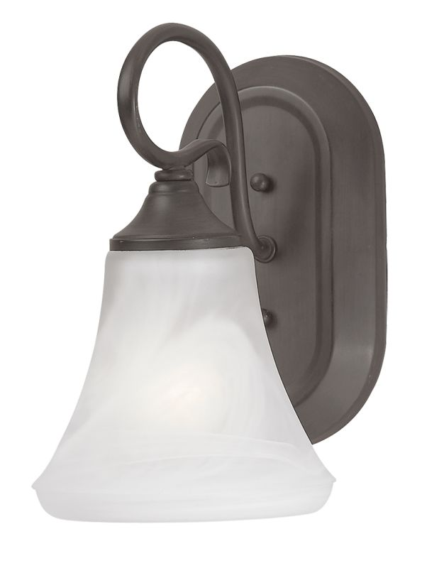 Thomas Lighting SL7441 Down Lighting Wall Sconce from the Elipse