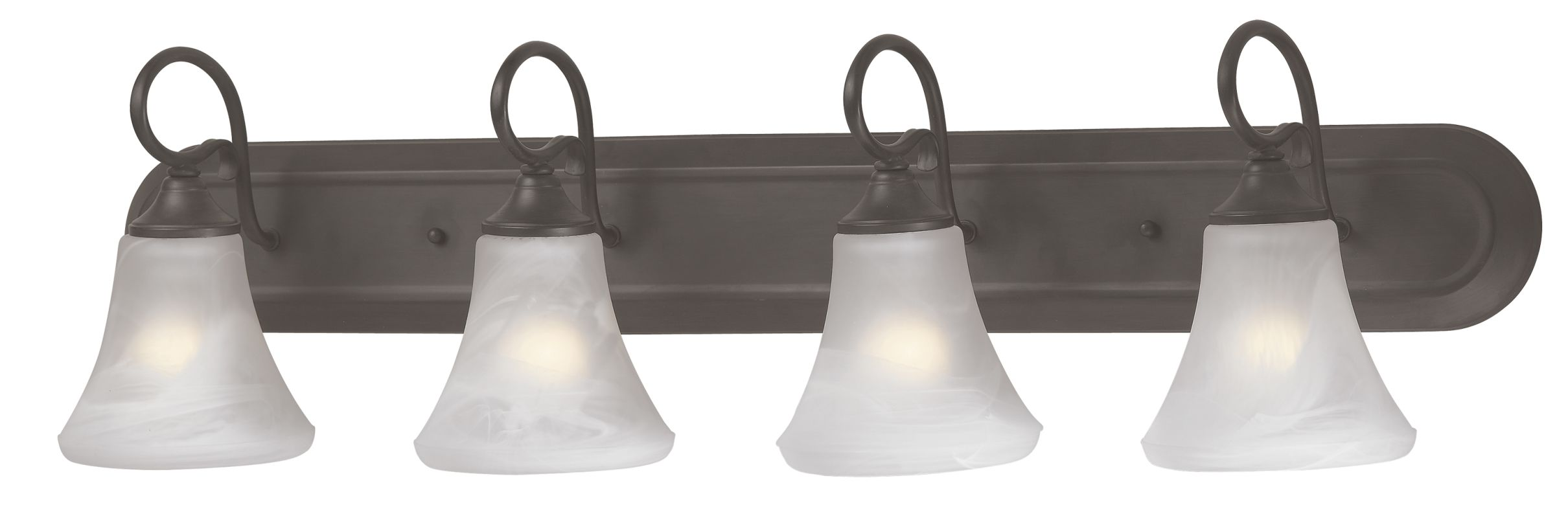 "Thomas Lighting SL7444 4 Light 36"" Wide Bathroom Fixture from the"