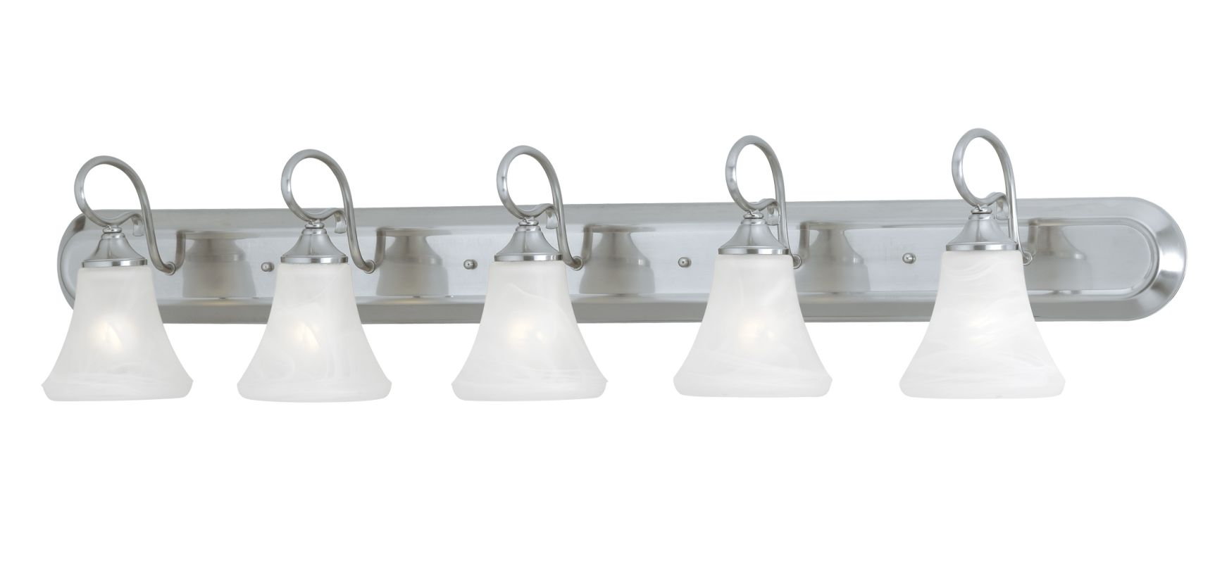 "Thomas Lighting SL7445 5 Light 48"" Wide Bathroom Fixture from the"