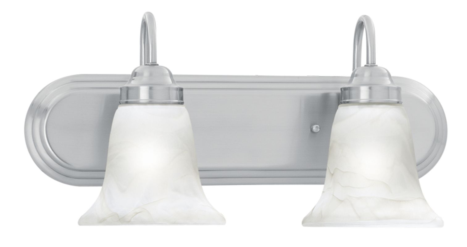 "Thomas Lighting SL7582 2 Light 18"" Wide Bathroom Fixture from the"