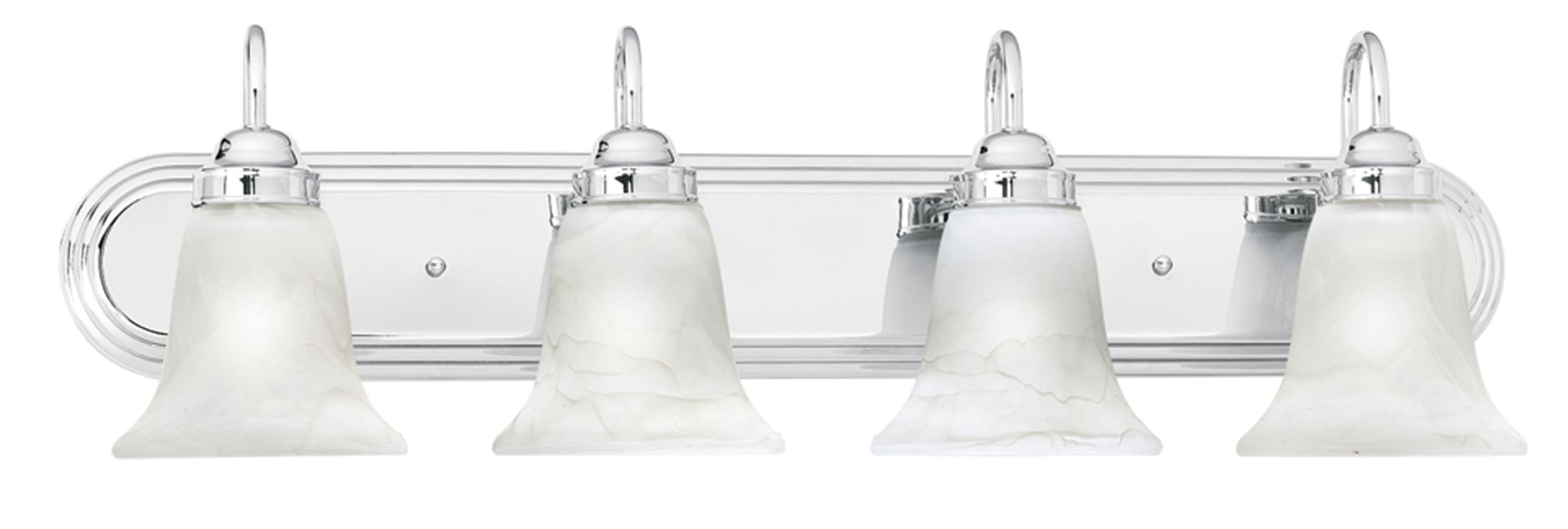 "Thomas Lighting SL7584 4 Light 30"" Wide Bathroom Fixture from the"