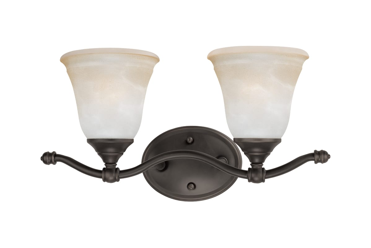 "Thomas Lighting SL7602 2 Light 16"" Wide Bathroom Fixture from the"