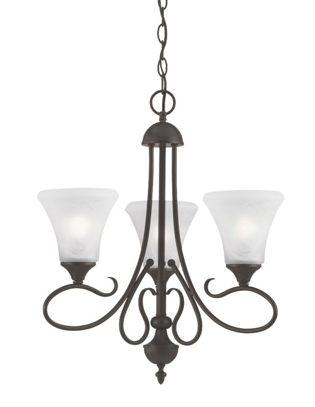 Thomas Lighting SL8113 3 Light Mini Chandelier from the Elipse Sale $134.00 ITEM: bci372635 ID#:SL811363 UPC: 20389174192 :