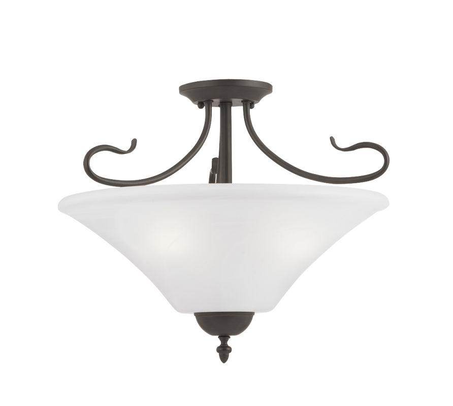 Thomas Lighting SL8253 Semi-Flush Ceiling Fixture from the Elipse