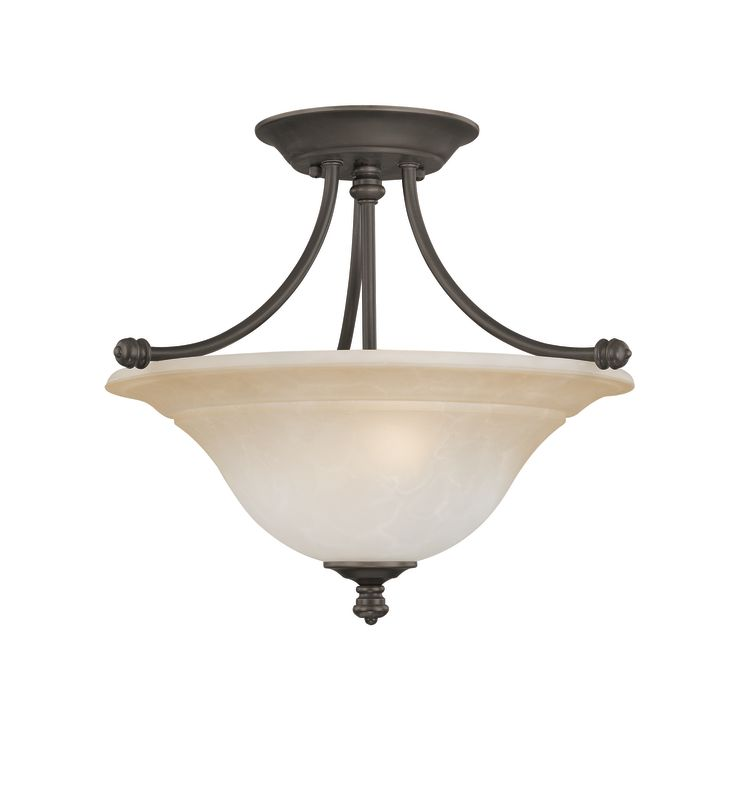 Thomas Lighting SL8662 Semi-Flush Ceiling Fixture from the Harmony