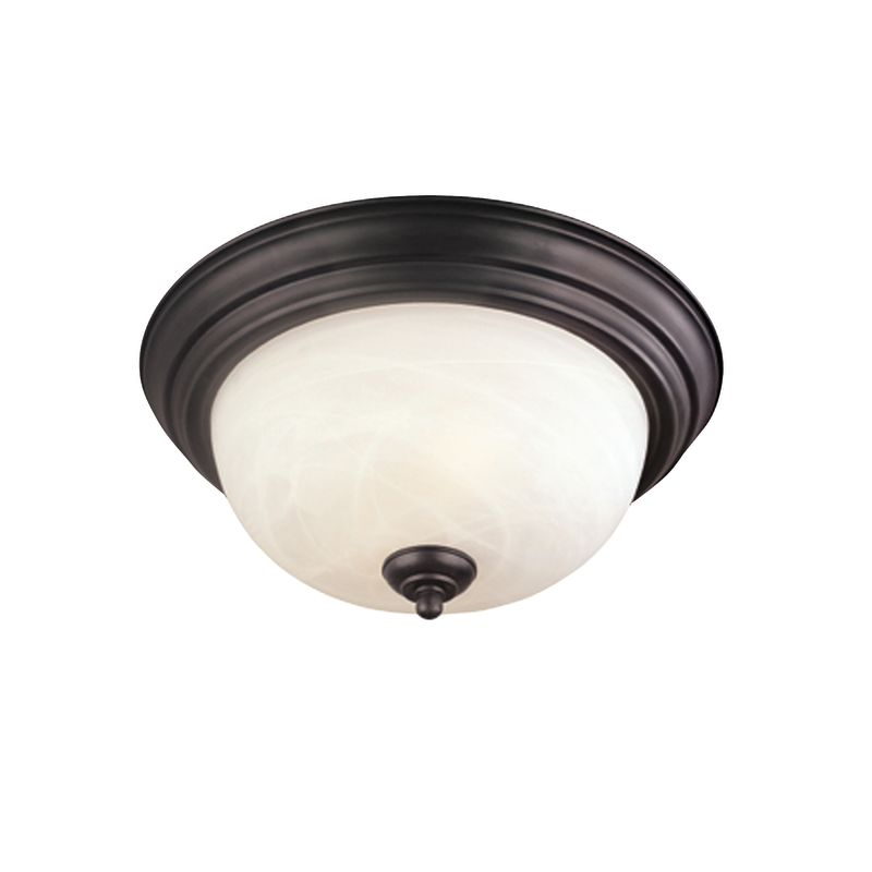 Thomas Lighting SL8691 Flushmount Ceiling Fixture Painted Bronze