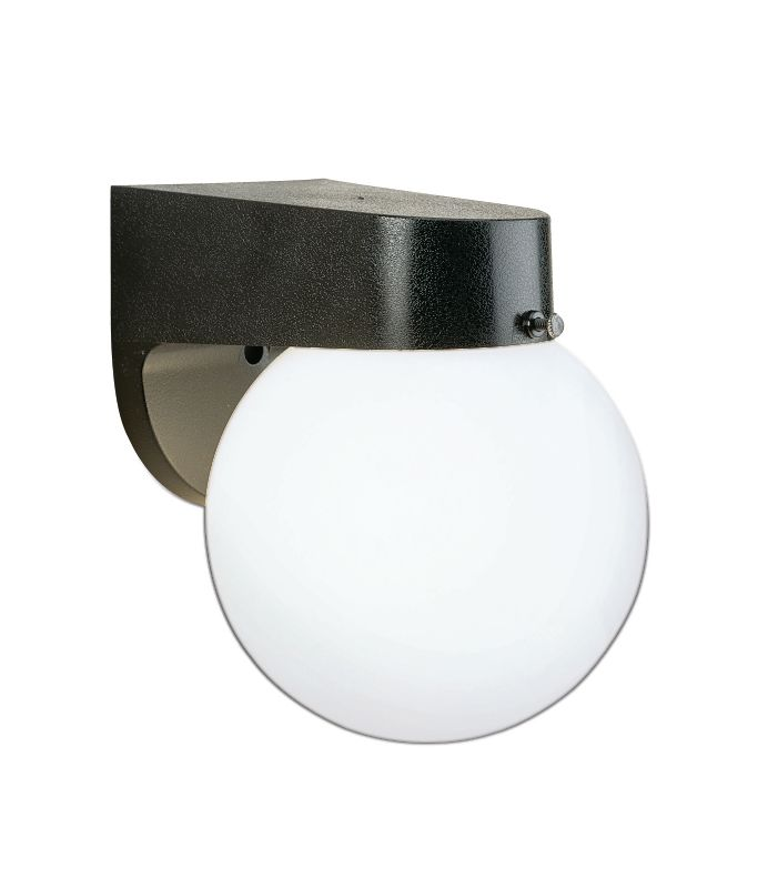 Thomas Lighting SL9435 Functional Outdoor Wall Sconce Black Outdoor