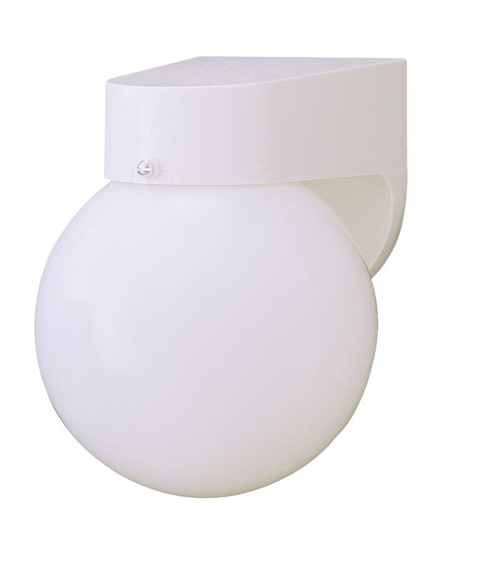 Thomas Lighting SL9435 Functional Outdoor Wall Sconce White Outdoor