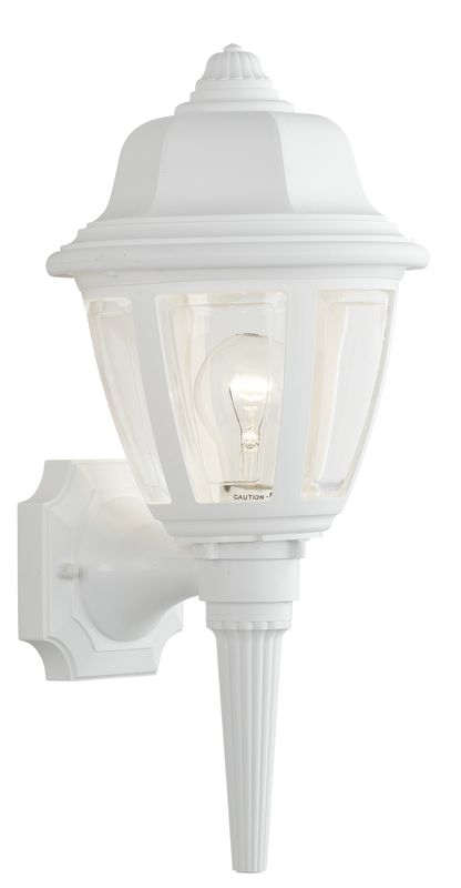 Thomas Lighting SL9442 Outdoor Wall Sconce White Outdoor Lighting